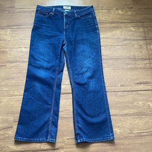 LL Bean Favorite Fit Straight Jeans Size 12P